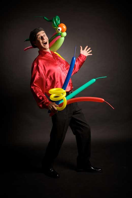 Willow magicien des ballons crédit photo David Beeler