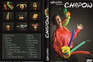 Chapow le premier DVD de Willow Domanski vous y trouverez des tutoriels pour réaliser 17 sculptures plus des bonus