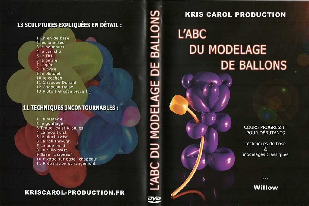 DVD L'ABC du modelage de ballons de Willow Domanski