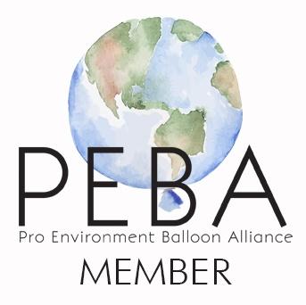 Badge Anouk sculptrice sur ballons Membre de PEBA